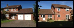 Exisitng house in Binfield prior to building works